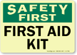 Safety First: First Aid Kit