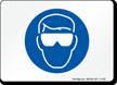 Safety Glasses Symbol Sign
