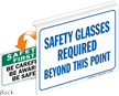 Safety Glasses Required Safety First Sign