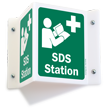 Safety Data Sheets Station 2-Sided Projecting Sign