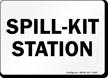Spill Kit Station Sign