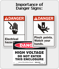 Importance of Danger Signs