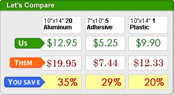 OSHA Sign Prices