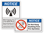 ANSI Notice Labels