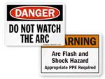 Arc Flash Signs