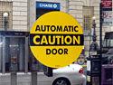 Automatic Door Signs