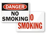 Big No Smoking Sign