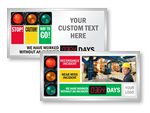 Big Stoplight Scoreboards