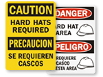 Bilingual Construction Signs