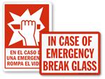 Break Glass in Case of Emergency