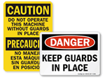 Buy All Machine Safety Signs