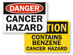 Cancer Hazard Warning Signs