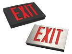 Cast Aluminum Exit Signs