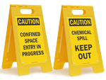 Caution Floor Signs
