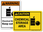 ANSI Chemical Signs