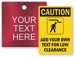 Clearance Signs - Custom Templates