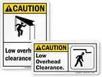 ANSI Clearance Signs