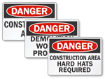 Construction Area Signs