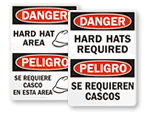 Bilingual Construction Signs