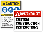 ANSI Construction Signs