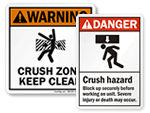 Crush Hazard