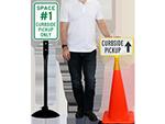 Curbside Pickup Signs