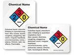 Custom HazCom Chemical Labels