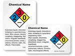 Custom HazCom Labels