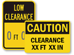 Clearance Signs - Custom Templates