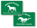 Custom Horse & Farm Signs
