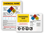 Custom HazCom Signs