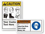 Design Your Own PPE Sign