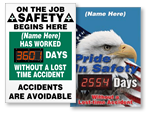 Custom Safety Scoreboards
