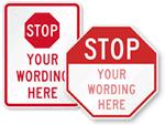 Custom STOP Signs