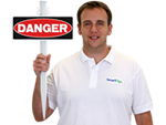 EasyStake Danger Sign