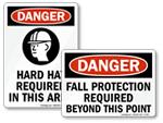 Danger PPE Signs