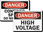 Danger Safety Signs
