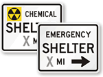 Decontamination Signs