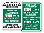 Dial-a-Day™ Safety Scoreboards