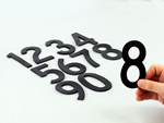 Die-Cut Digits: Reflective, Magnetic and Vinyl