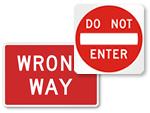 Do Not Enter Traffic
