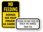 Do Not Feed Horses