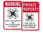 Drone Liability Signs