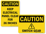 Electrical Caution Signs