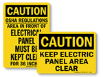 Do Not Block Electrical Panel