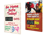 Electronic Photo Safety Scoreboards