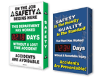 Electronic Safety Scoreboards - Shine-a-Day™ Scoreboards
