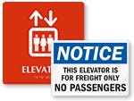 Elevator Signs