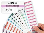 Custom ESD Certified Labels