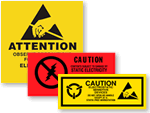 Anti-Static Caution Labels | ESD labels